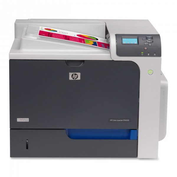 HP Color LaserJET CP4525N (low fuser kit level)